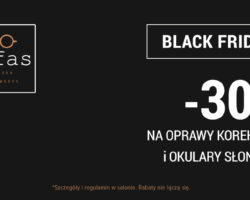 Black Friday w salonach Gafas i na www.gafas.pl