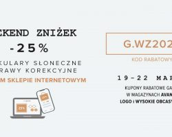 GAFAS – Weekend zniżek!